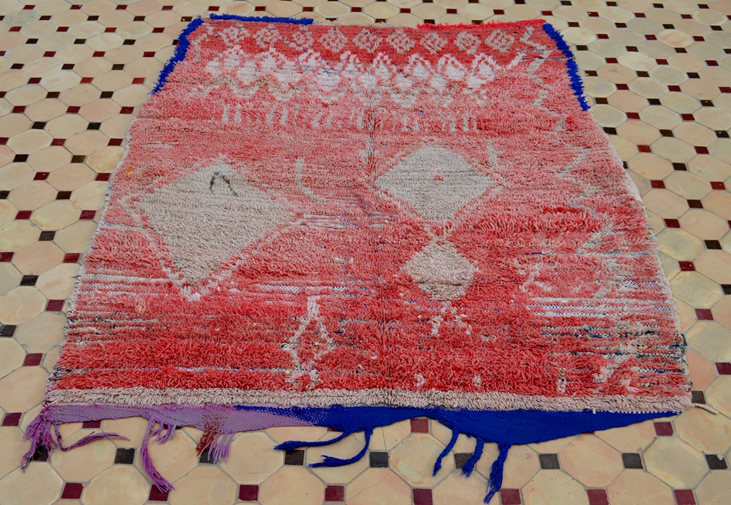 red azilal rugs