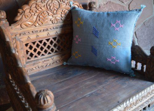Vintage sabra pillow
