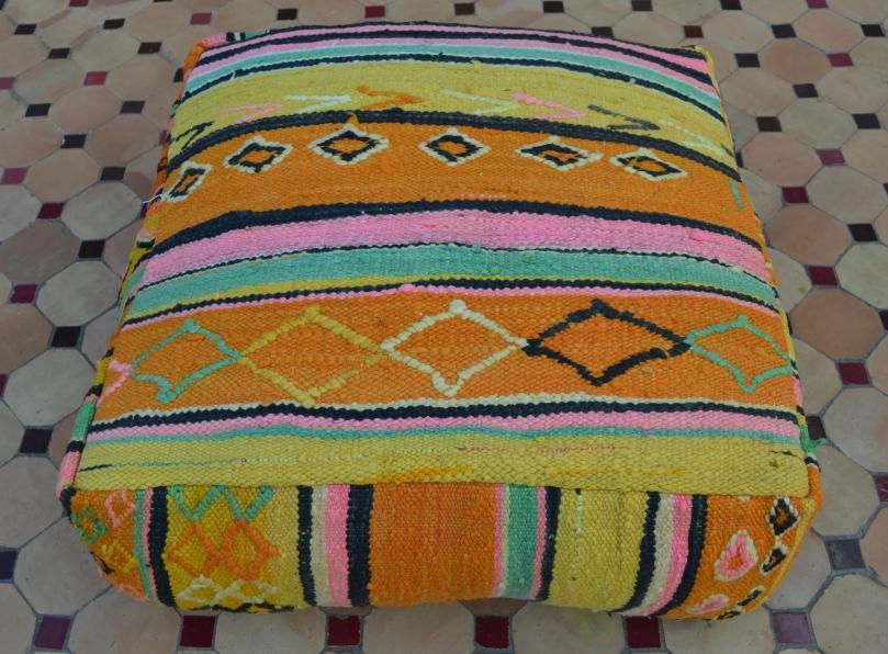 floor pillow in Morocco
