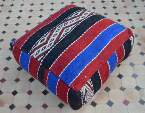 killim floor pillow