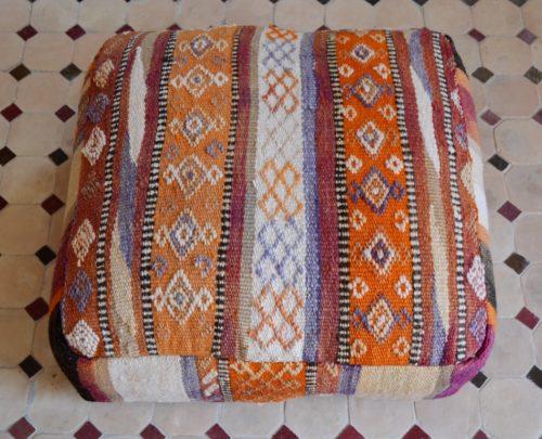 Handicraft floor pillow