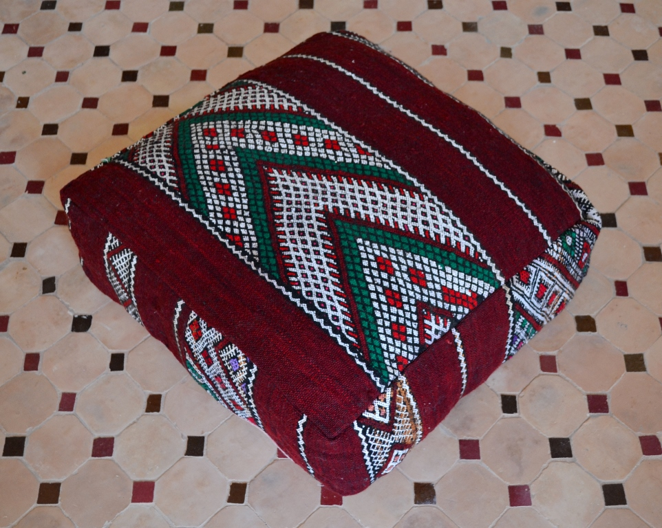 handmade floor pillow