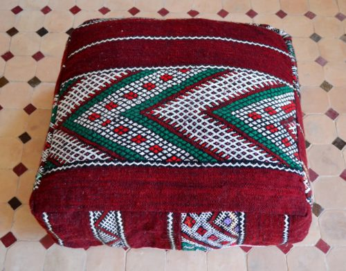 Traditional floor pillow