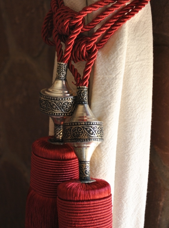 MOROCCAN CURTAIN TIES