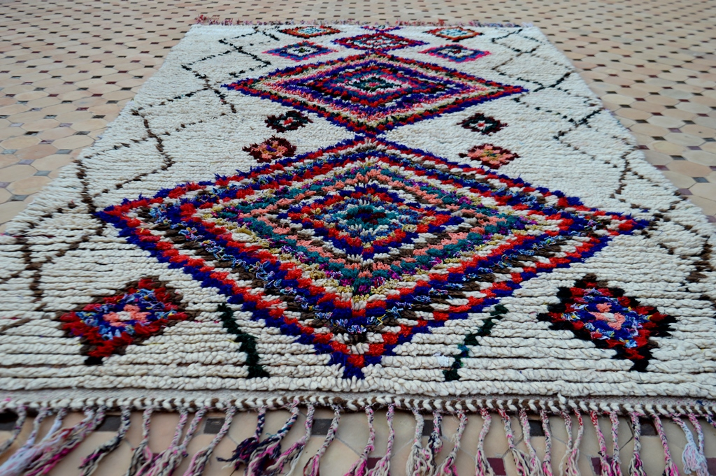 Ourika carpet knotted