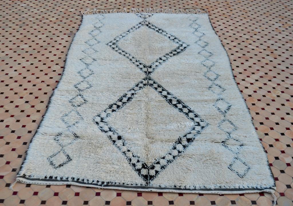 beni ouarain rugs in moroccan
