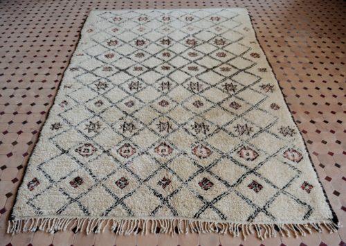 beni ouarain rugs morocco