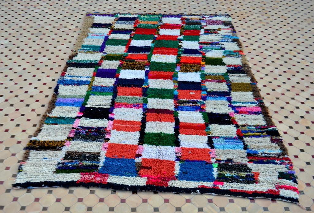 vintage boucherouite rugs