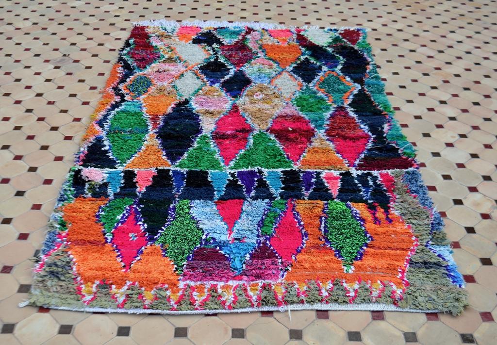 Scraps Textile carpets