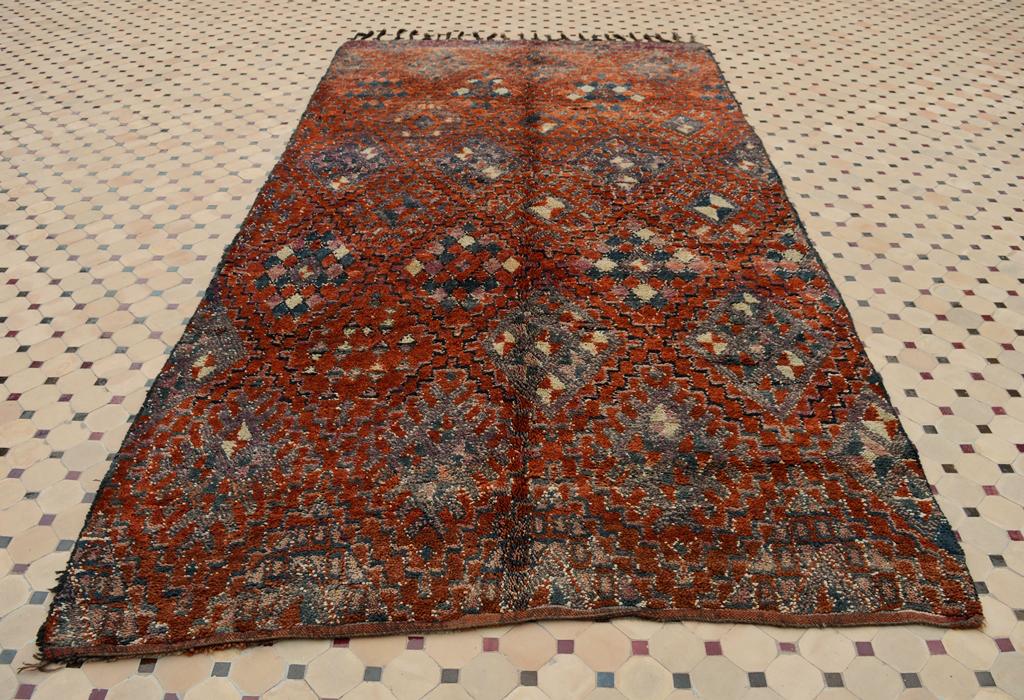 zayane Rugs in Moroccan