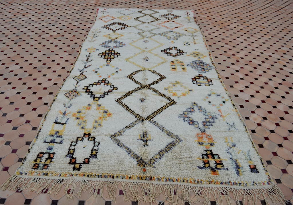 Azilal carpets in Moroccan