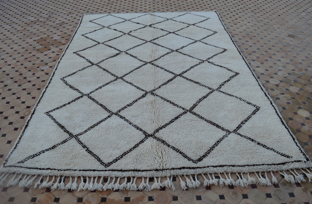 beni ouarain rugs for interior design