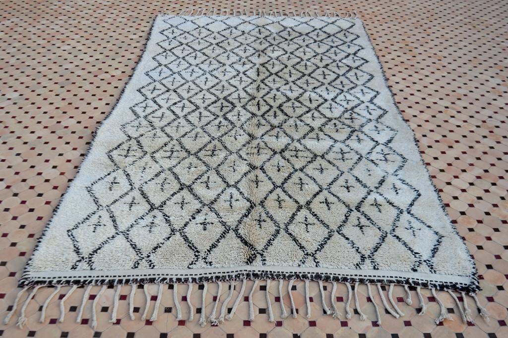 Excellent vintage Beni Ouarain rugs