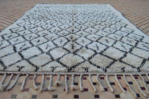 beni ouarain carpet more pattern