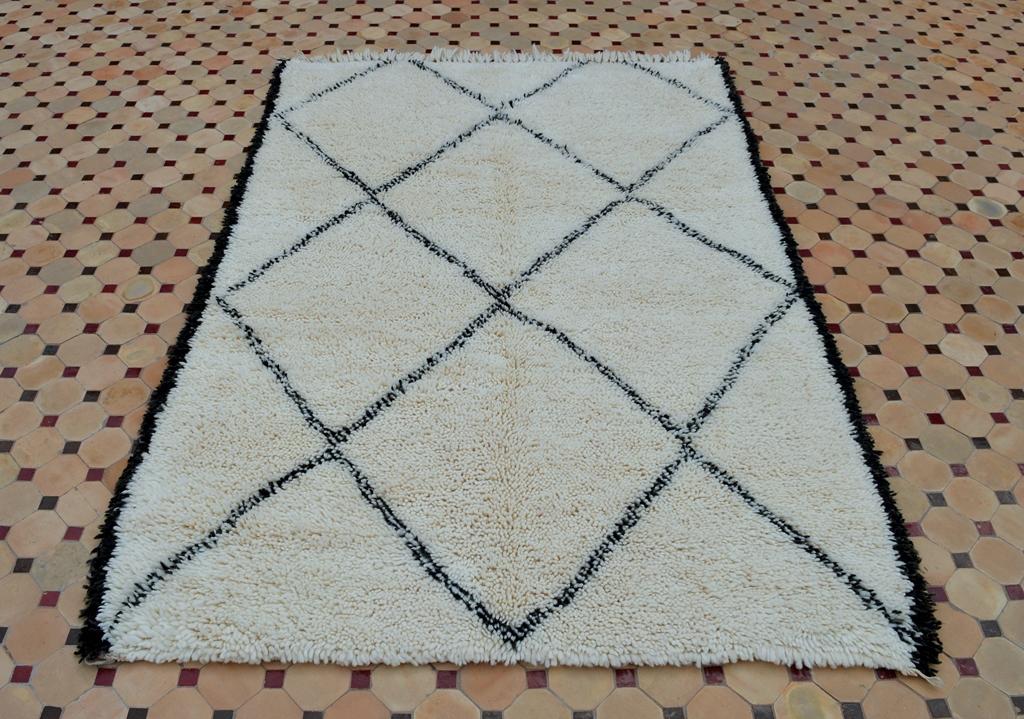 beni ouarain rugs lining design