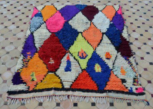 boucherouite color rugs