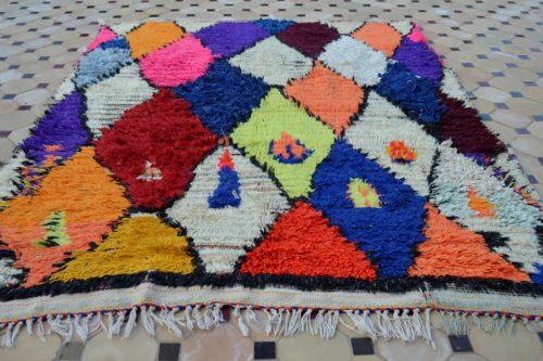 Boucherouite Rugs Colorful design
