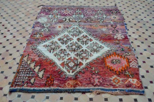 boujad rugs in Moroccan