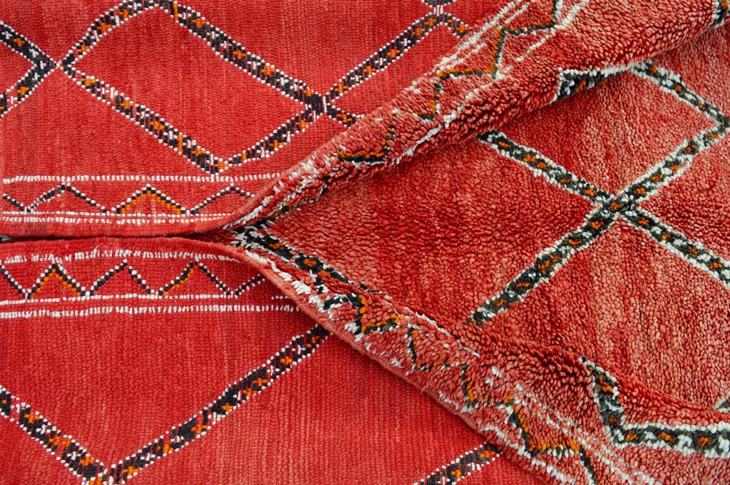 vintage Beni Mrirt carpet