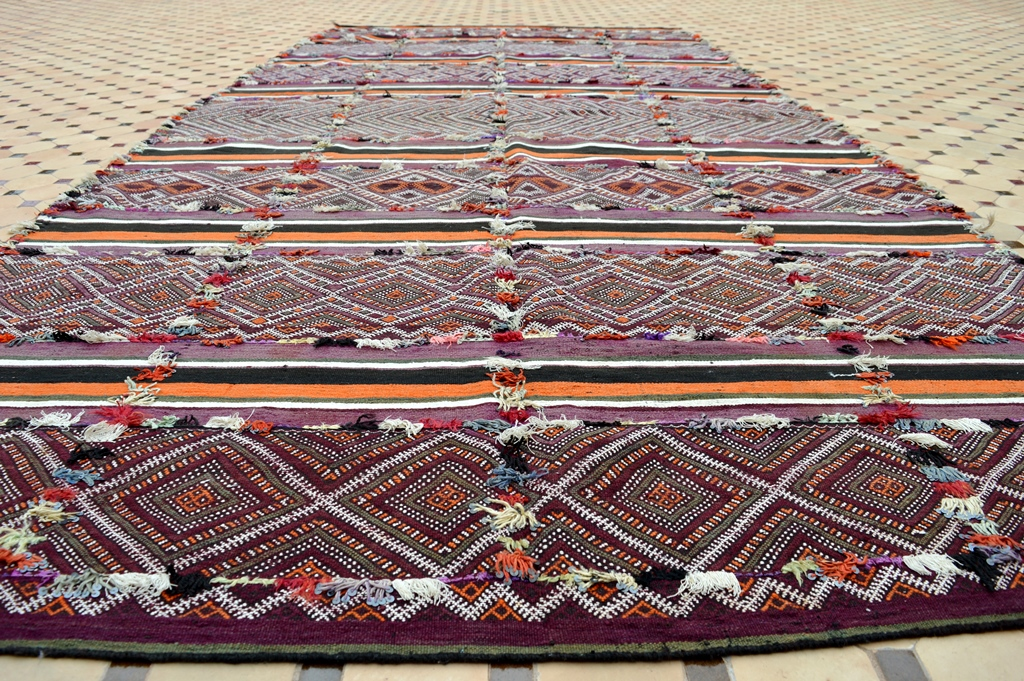 Beautifully Zayane kilim