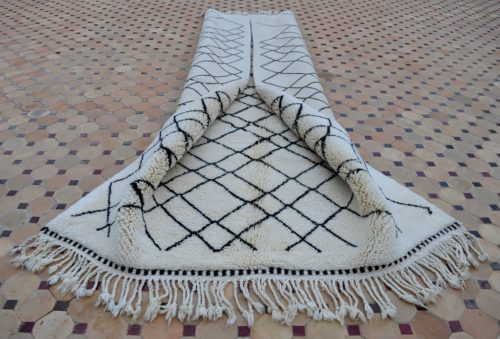 Beni Mrirt carpet design