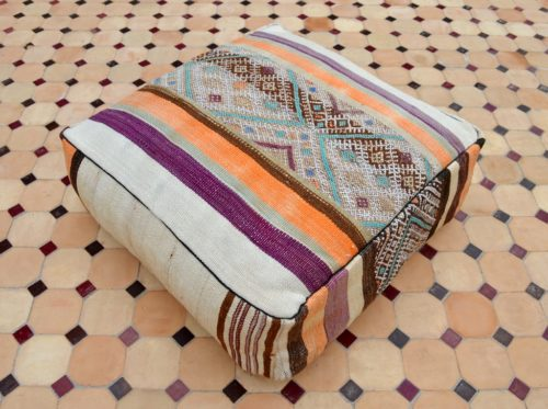 kilim floor pillow