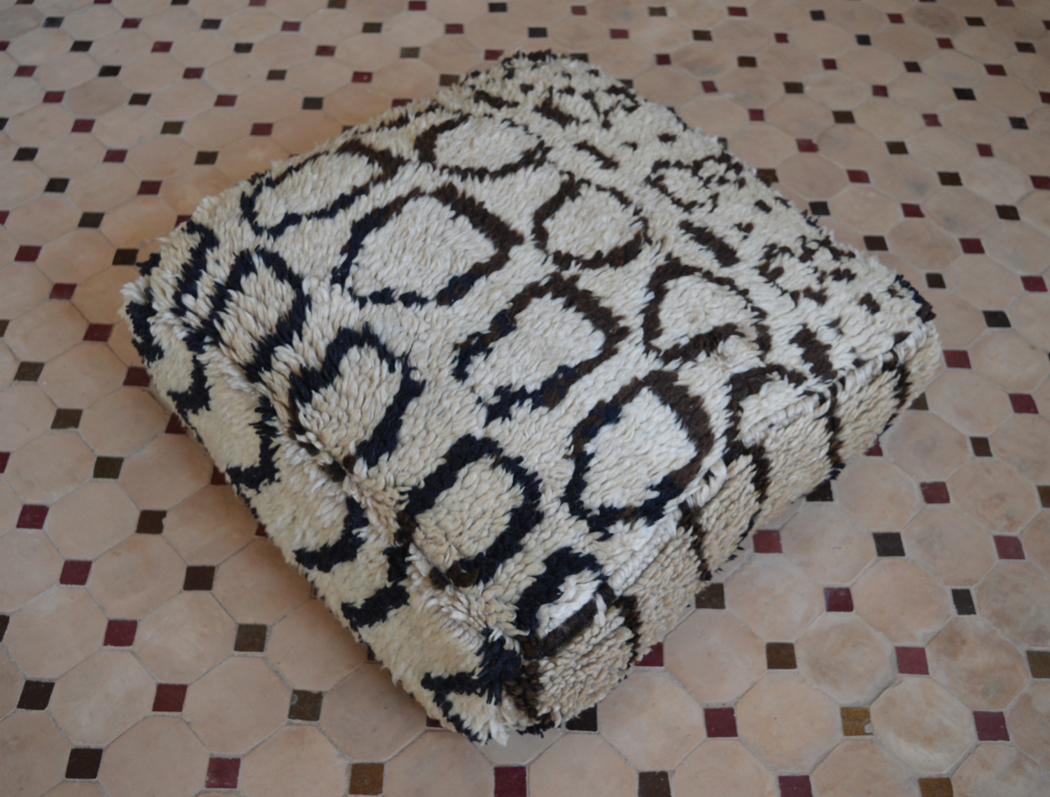 Moroccan Azilal floor pillow