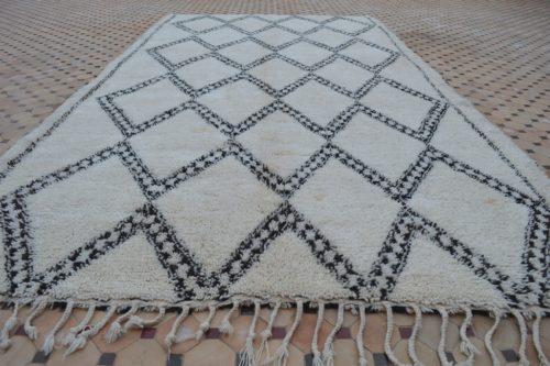 vintage beni ouarain carpet