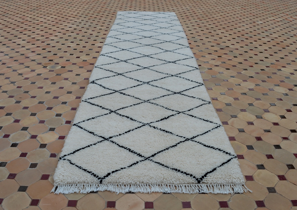 beni ouarain carpet runner
